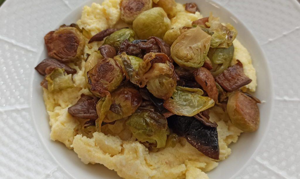Polenta s opekanou zeleninou