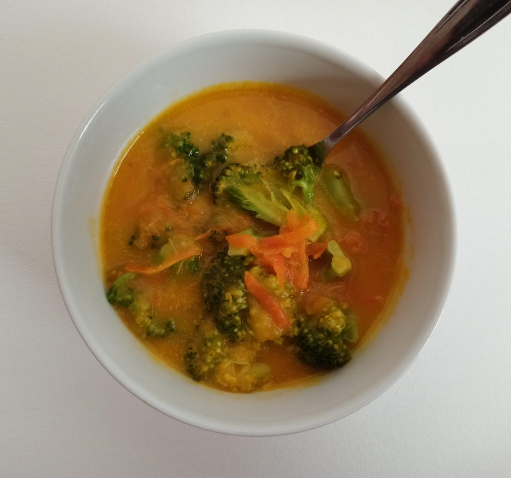 Mrkvovo brokolicová polievka